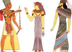 Одяг Стародавнього Єгипту