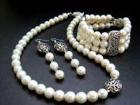 Прикраси з перлами