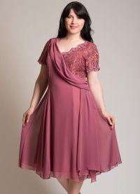 Нарядные платья для полных дам турецкого бренда Breeze.  Весна-лето 2013.