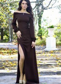 шить самой длинное платье