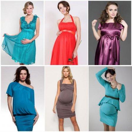 Какие фасоны платьев подходят беременным