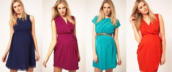 Красивые платья для беременных