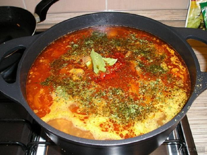 Суп харчо с картофелем фото рецепт