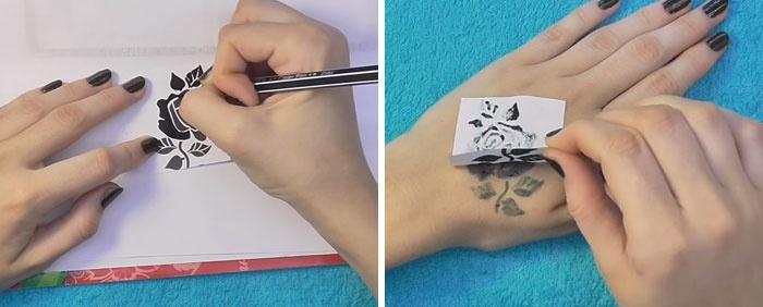 Как сделать временную татуировку в домашних условиях без хны и талька - ОКТАКО