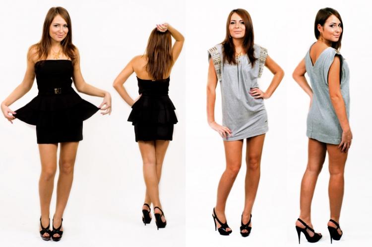 мини сукни: