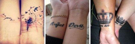 Татуювання для дівчат на зап'ясті: ідеї модних жіночих тату з фото і прості ескізи