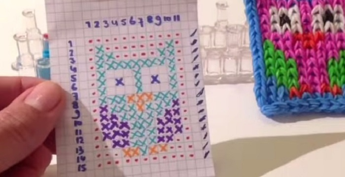Плетение из резинок и схемы