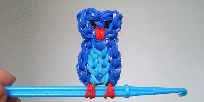 Как сделать игрушку из резиночек