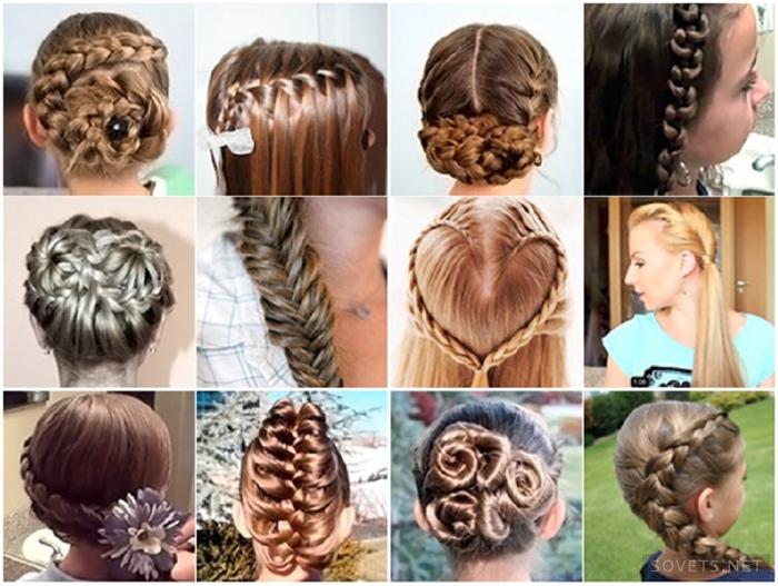Как красиво сделать причёски в школу
