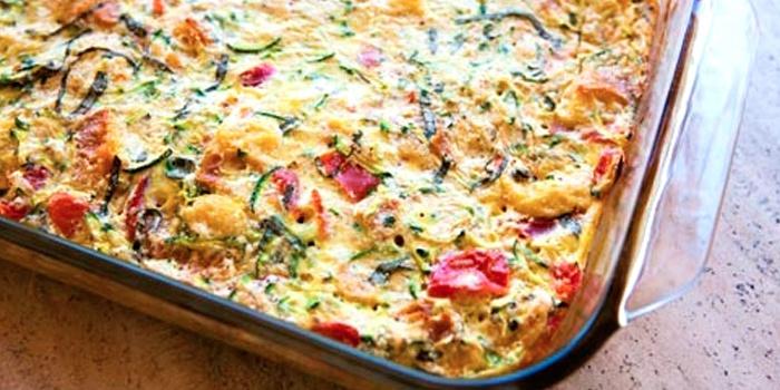 Запеканка кабачок с фаршем в духовке рецепты с пошагово