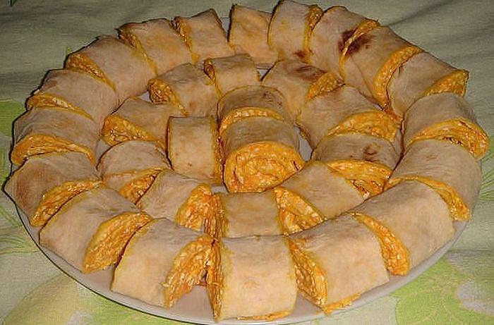 Рулеты из лаваша с разными начинками рецепты пошагово