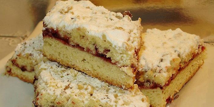 пиріг з варенням рецепт з фото