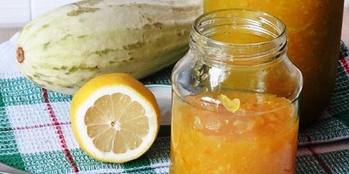 Варенье кабачки с лимоном