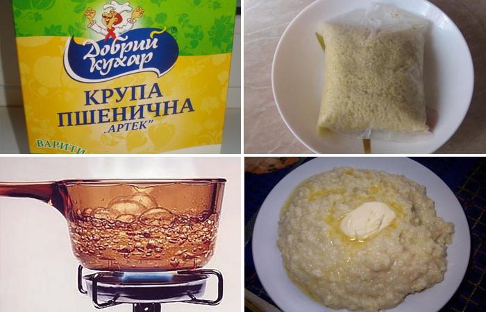 Как приготовить пшеничную кашу вкусной