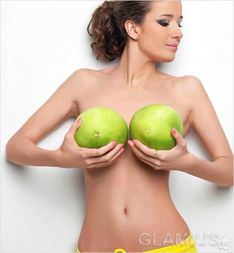 Фото красивая упругая грудь