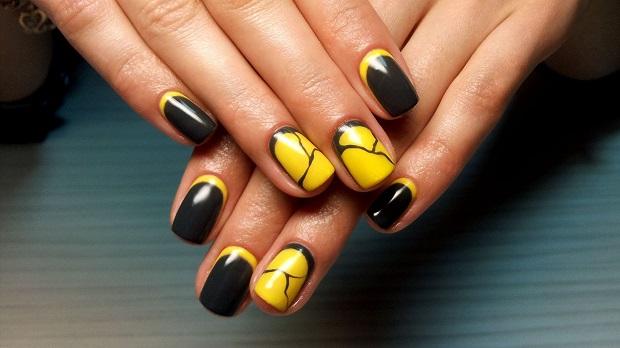 Дизайн ногтей с гельлаком