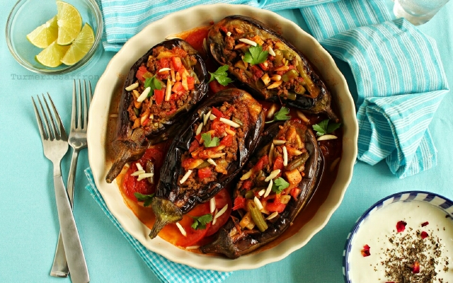 Рецепты блюда из баклажана с мясом