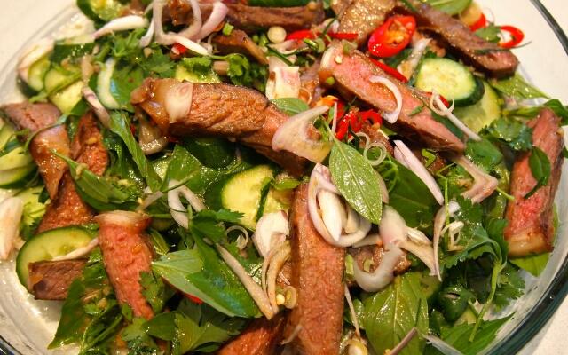 Салат мясные рецепты с